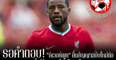 """รอคำตอบ! """"ลิเวอร์พูล"""" ยื่นสัญญาฉบับใหม่ต่อ """"ไวจ์นัลดุม"""" เรียบร้อยแล้ว footballfalconsstore #ข่าวกีฬาต่างประเทศ #ข่าวกีฬาไทย #ฟุตบอลต่างประเทศ #ฟุตบอลไทย #ลิเวอร์พูล #ยื่นสัญญาฉบับใหม่ #จอร์จินโย่ ไวจ์นัลดุม #พิจารณาต่อสัญญา"""